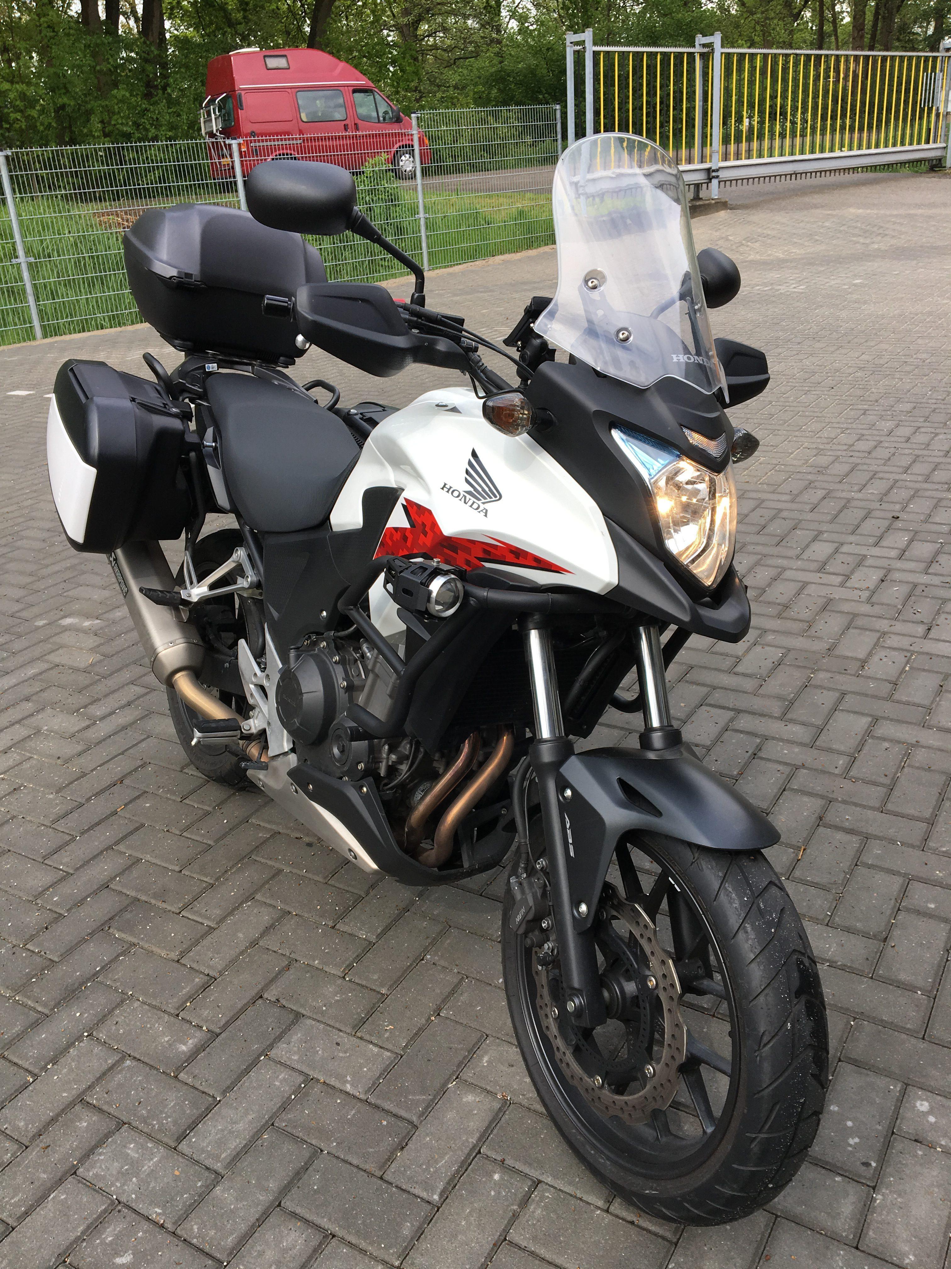 Honda CB500X Pieter Jan Tolner